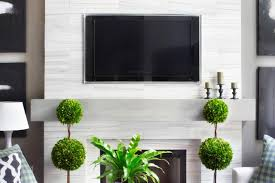 make a modern floating wood mantel