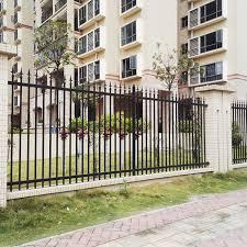 outdoor decorative metal garden fencing