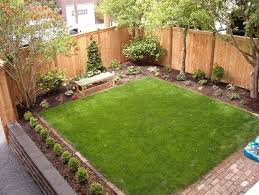 fence line landscaping ideas backyard