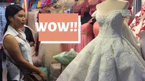 divisoria wedding gowns 5k only