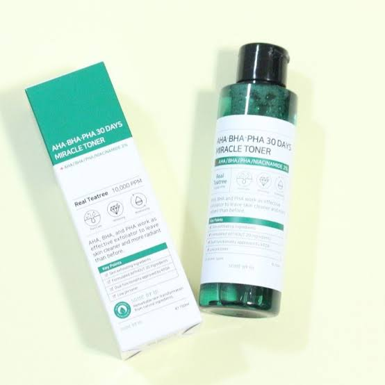 AHA BHA PHA 30 Days Miracle Toner By Some By Mi