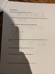 solved linear functions 9 find the