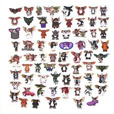 66 Pcs Gremlins Sticker Cartoon Toy Stickers For Car Styling Bike Motorcycle Phone Laptop Luggage Cool Funny Sticker Decals Na56 Wish