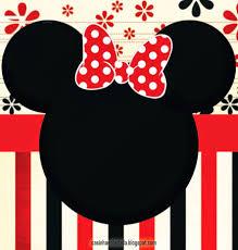 Kit Minnie En 2020 Invitaciones Minnie Invitacion De Minnie