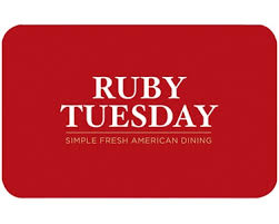 ruby tuesday gift card auction