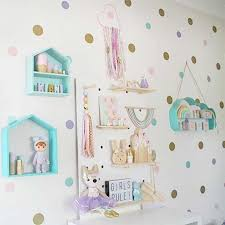 Dots Wall Stickers For Kids Room Baby Home Decoration Children Wall Decals Kids Wall Sticker Kids Home Decor Murals Wallpaper Wall Stickers Aliexpress