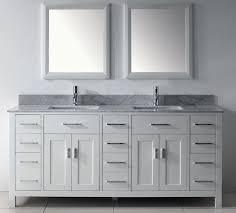 75 inch asta vanity white sink vanity