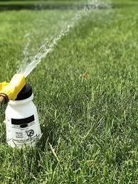 garden hose end sprayer mixer bottle