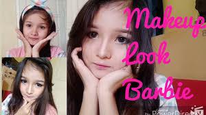 tutorial makeup look barbie sehari hari