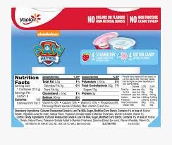 trix yogurt nutrition facts
