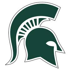 Msu Michigan State Reflective Spartan Head Decal 4 Alumni Hall