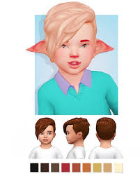 sims 4 toddler hair cc alpha maxis