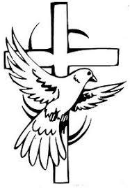 Window Car Truck Religious Wall Cross With Dove Vinyl Decal Sticker Ebay