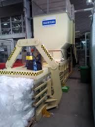 china plastic bag closed door baling