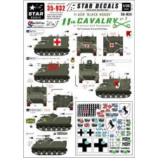 Star Decals 35932 11th Cavalry In Vietnam Cambodia 2 M577 Decals The Largest Choice With 1001hobbies Com