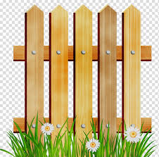 Home Fence Fence Pickets Wood Garden Gate Yard Drawing Transparent Background Png Clipart Hiclipart