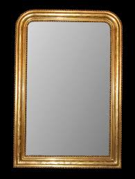 french gilded louis philippe mirror for