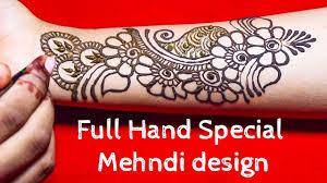 easy mehndi design simple step by step