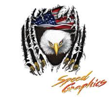 Vehicle Graphics Eagle And Patriotic Decals