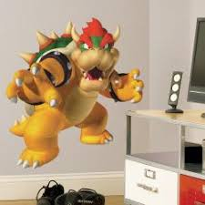 Shop Roommates Nintendo Bowser Peel And Stick Giant Wall Decal Overstock 6814127