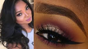 prom makeup tutorial dark skin