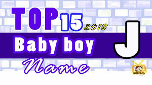 baby boy names start with j 2018 s