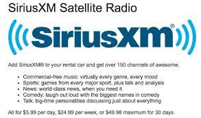 satellite radio in a al car