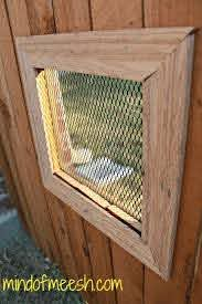 Diy Wooden Fence Window For Your Dog Modern Mom Life