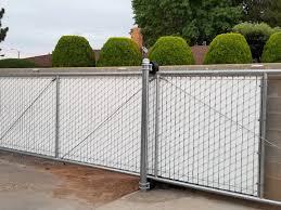 Chain Link Fence Installation Aztec Farmington Nm Sierra Alta Fence Llc
