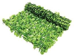 Artificial Ivy Hedge Screening 3m X 1m Roll Cover Fence Wall Garden Green Leaf Amazon Co Uk Garden Outdoors