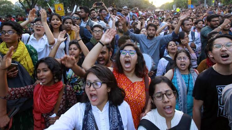 Image result for JNU MARCH""