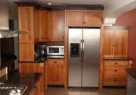 hand crafted craftsman style kitchen in