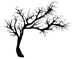 Halloween Creepy Scary Bare Tree Vector Symbol Icon Design Stock Illustration Download Image Now Istock