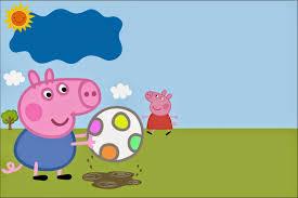 Mini Kit De George Pig Para Imprimir Gratis Ideas Y Material