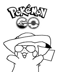 Kleurplaat Pokemon Games Op Mobiel Pikachu Pokemon Go 5