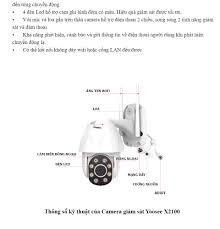 Camera Giám Sát Ngoài Trời Yoosee X2100 – Xoay 360 Độ - Độ Phân Giải Full  HD1080P - Bảo hành 1 năm
