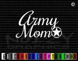 Army Mom 3 Military Proud Family Cute Dad Car Decal Window Vinyl Sticker Ebay