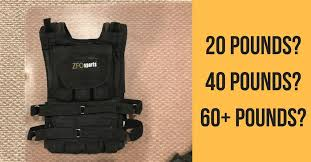 how heavy of a weighted vest should i