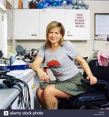 English television presenter Penny Smith, photographed backstage at the  GMTV studios, April 2004, South Bank, London, England, United Kingdom Stock  Photo - Alamy