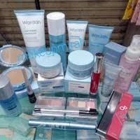 wardah paket lengkap skin care makeup