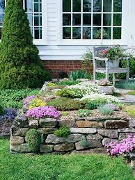 rock garden design ideas better homes