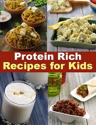 kids protein rich recipes