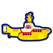 Beatles Yellow Submarine Vynil Car Sticker Decal Select Size Walmart Com Walmart Com