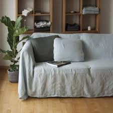 linen couch cover linen bedspread