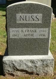 "Adeline ""Addie"" Cooper Nuss (1862-1936) - Find A Grave Memorial"