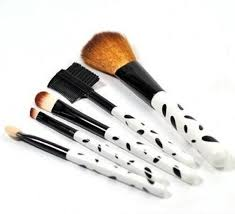 5 piece makeup brush set manufacturer