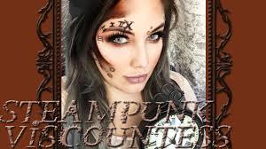 steunk viscountess makeup tutorial