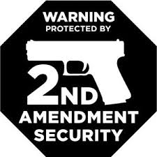 Protected By 2nd Amendment Gun Vinyl Decal Home Sticker Front Door Security Ebay