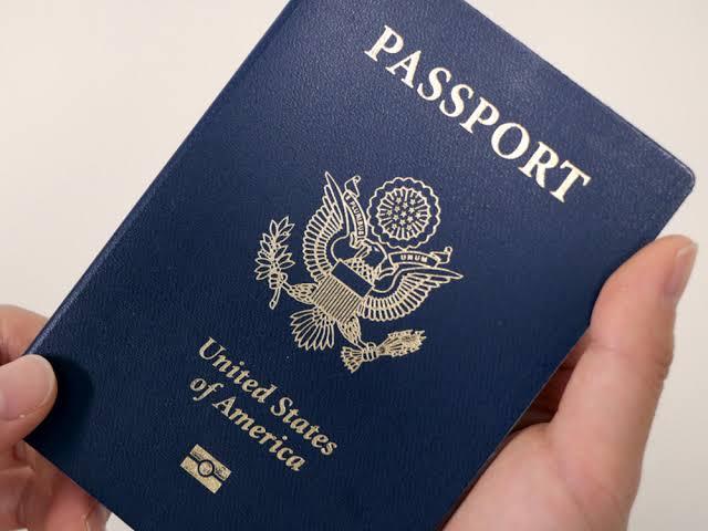 Pasaporte azul de Estados unidos