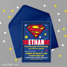 Printable Invite Digital Invite Birthday Invite Party Invite Superheroes Superhero Superman Invite Superman Birthday Superman Party Fiesta De Superman Fiesta De Cumpleanos Del Superheroe Y Invitaciones De Superman
